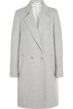 Stella McCartney Double-breasted wool-blend coat NET-A-PORTER.COM   the mannish coat