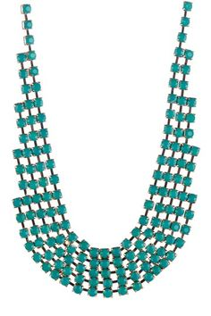 Turquoise Pebbles Necklace by Pop Of Color: Bold Jewelry Shop on @HauteLook