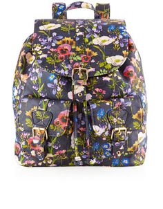 Winter Floral Backpack | Multi | Accessorize