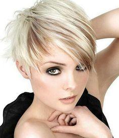 Ash blonde with sliced Suttle dark beige blonde low lights