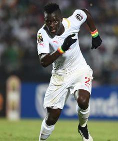 Kara Mbodji scoorde op de Africacup tegen zijn ploegmaat Anele.