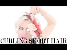 I'm FINALLY teaching you how to get my most requested pixie hairstyle tutorial for this tousled curl. Bust out your flat iron to start practicing how to styl...
