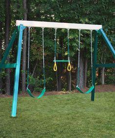 andorra wooden swing set by big backyard little ones pinterest big backyard