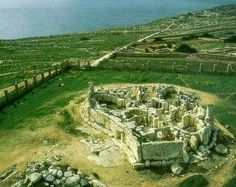There were 40 Neolithic stone temples on Malta. The ancient Maltese built the temples 1,000 years before the Pyramids