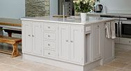Our Bespoke Shaker Kitchen styles represent simplicity, utility and honesty. A sought-after style, offering balance between traditional and modern tastes. Shaker Kitchen, Bespoke Kitchens, Kitchen Islands, Home Look, Cozy House, Country Kitchen, Built Ins, Pallet, Remodeling