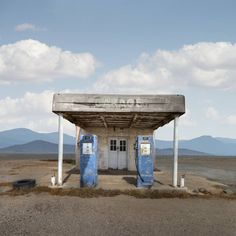 "Saatchi Art Artist Ed Freeman; Photography, ""Gas Station, Quartzite Arizona, Edition 1 of 9"" #art"