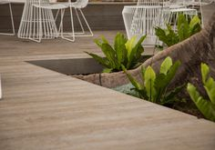 Millboard decking is a composite solution from Urbanline and is virtually maintenance free, whilst still closely resembling the natural beauty of timber.