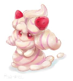 See more 'Alcremie' images on Know Your Meme! Pokemon Oc, Pokemon Memes, Pokemon Fan Art, Cute Pokemon, Pokemon Stuff, Pokemon Human Form, Mudkip, Spyro The Dragon, Go Game