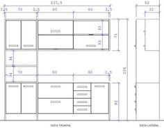 Resultado de imagen para projeto de armario para forno e microondas torre