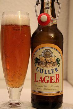 Lager Bier der Brauerei Göller aus Zeil am Main www.brauerei-goeller.de