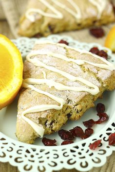 Gluten-Free Orange Cranberry Scones + My Pros and Cons of Ebook Writing - The Healthy Maven