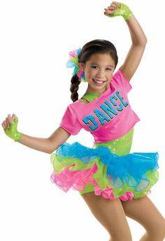 I Love Dance Costume. You Go Girl Dancewear http://www.yougogirldancewear.com/Girls-Dance-Costume-p/w-6166.htm