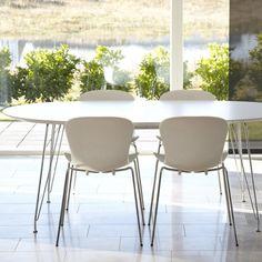 DK 10 spisebord, NAP stole, Andersen Furniture.
