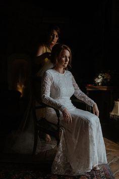 Beautiful moody Dutch Masters style bride portrait  Olivia & Dan Photography - Spanish Wedding