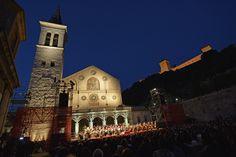 Spoleto Festival dei 2 Mondi in Umbria  27 June - 13 July 2014  website: www.festivaldispoleto.com