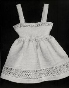 Afbeeldingsresultaat voor breien jurkje