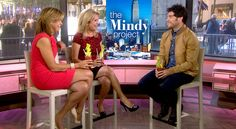 'Mindy Project' star Adam Pally spars with Kathie Lee over celery