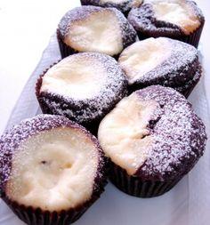 Black Bottom Cannabis Cupcakes | EatYourCannabis.com