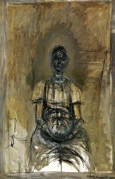 Alberto Giacometti Portrait of Caroline OIL Alberto Giacometti, Figure Painting, Figure Drawing, Painting & Drawing, Giacometti Paintings, Modern Art, Contemporary Art, Art Moderne, Figurative Art