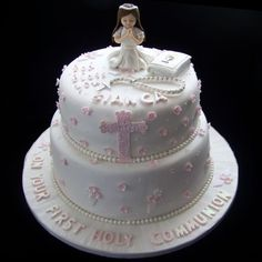 First Communion Cake Ideas | First Holy Communion Cake Ideas http://www.bellalicious.co.za/pages ...
