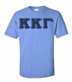 $15 Kappa Kappa Gamma Lettered Tee SALE $15.00. - Greek Clothing and Merchandise - Greek Gear®