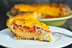 Tomato Cheese Pie