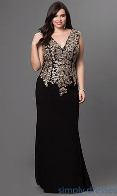 Shop for prom dresses and party dresses by Elizabeth K at PromGirl. Teen party dresses, long prom dresses and plus-size formal dresses for prom. Plus Size Formal Dresses, Plus Size Gowns, Formal Gowns, Plus Size Outfits, Formal Prom, Curvy Fashion, Plus Size Fashion, Evening Dresses, Prom Dresses