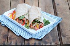 Teriyaki Salmon Wraps — The Fountain Avenue Kitchen