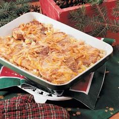 Pork Chops O'Brien Recipe -I like to make this recipe for small holiday gatherings, especially when folks are tired of ham and turkey. It's delicious.