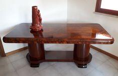 M. Maranzana - Fabulous Art Deco 1930 table - Catawiki Art Deco Furniture, Italian Art, Restoration, Auction, Dining Table, Home Decor, Decoration Home, Room Decor, Dinner Table