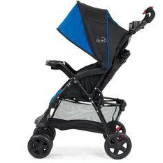 Kolcraft Cloud Sport Lightweight Stroller, Cobalt Blue