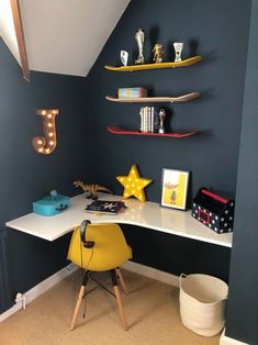 Jack's Bedroom Transformation Just a Little Build is part of Blue boys bedroom - Boys Bedroom Ideas 8 Year Old, Cool Bedrooms For Boys, Kids Bedroom Boys, Big Boy Bedrooms, Boys Bedroom Decor, Kids Bedroom Furniture, Awesome Bedrooms, Childrens Bedrooms Boys, Childs Bedroom