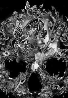 FANTASMAGORIK® SKULL FOREST by obery nicolas, via Behance