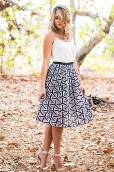Brooke Knit Midi Skirt - Morning Lavender, Fall Fashion