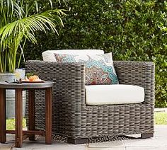 Outdoor Side & Accent Tables | Pottery Barn