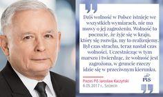 """Nieświadoma AUTOREFLEKSJA Kaczyńskiego!: ,,Tylko ktoś, kto w ogóle nie dostrzega  rzeczywistości może to kwestionować!"""" Smrodek w gatkach prezesiku ?"""