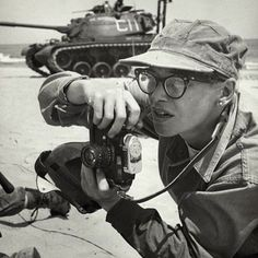 Dickey Chapelle (1919-1965) was one of the first female war correspondents covering World War II the Korean conflict and Vietnam. On the morning of November 4 1965 Chapelle was killed by a land mine while on patrol with a platoon becoming the first war correspondent killed in Vietnam and the first female correspondent killed in action. #leica via Leica on Instagram - #photographer #photography #photo #instapic #instagram #photofreak #photolover #nikon #canon #leica #hasselblad #polaroid…