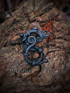 Viking Dragon, Celtic Dragon, Viking Age, Celtic Art, Dragon Necklace, Scandinavian Art, Dragon Pendant, Viking Jewelry, Pendant Design