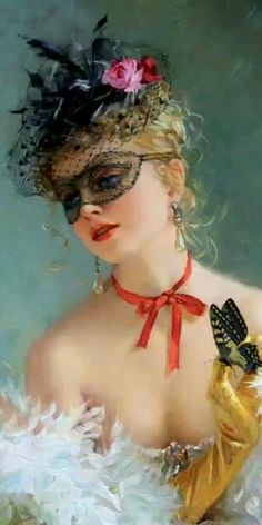 Lily Elsie, Amazing Gifs, Poster Ads, Nose Art, Young And Beautiful, Woman Painting, Female Portrait, Fancy Dress, Watercolor Paintings
