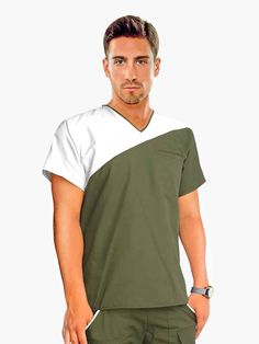 IMG-PRODUCT Scrubs Outfit, Scrubs Uniform, Men In Uniform, Dental Scrubs, Medical Scrubs, Scrubs Pattern, Scrub Sets, Shirt Style, Tee Shirts
