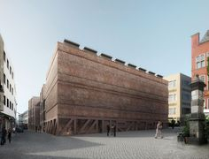 Extention to Wallraf-Richartz-Museum & Fondation Corboud in Köln by Christ & Gantenbein
