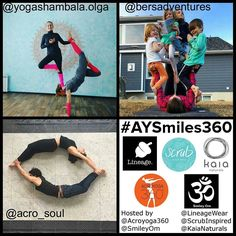 Thank you to everyone who participated in the #AYSmiles360 Challenge!  You all did an amazing job! It was incredibly difficult for us to narrow things down to only 3 people. There were several contenders and the final decisions were very tough to make. We were blown away by the level of creativity and enthusiasm that everyone brought to the challenge and we wish we had prizes to offer for everyone.  AND the winners of the #AYSmiles360 Challenge are:  Advanced: @yogashambala.olga! We were…