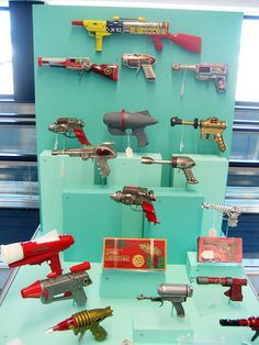 Toy Rayguns by Telstar Logistics, via Flickr    SFO Museum