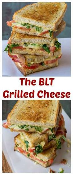The best BLT you'll ever eat is a BLT Grilled Cheese Sandwich! The best BLT you'll ever eat is a BLT Grilled Cheese Sandwich! Blt Recipes, Grilled Cheese Recipes, Sandwich Recipes, Cooking Recipes, Healthy Recipes, Grilled Cheeses, Best Grilled Cheese, Grilled Sandwich, Soup And Sandwich