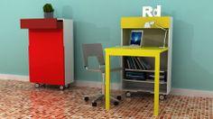 Consola Escritorio CLARET (diseño sobre medidas)*diferentes colores y acabados.  #dimojimobiliario, #diseno, #diseño, #mobiliario, #colores, #innovación, #creatividad, #fabricación, #colombiano, #mueble, #cute, #dimoji, #gabinete, #almacenamiento, #escritorio