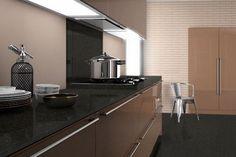 38 Colorful DIY Interior Designs That Make Your Place Look Cool - Interior Design Silestone Countertops, Granite Worktops, Granite Suppliers, European Home Decor, Kitchen Worktop, Work Surface, Look Cool, Cool Kitchens, Interior Design