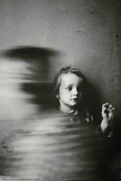 child ghost | spooky | movement | black & white fine art photography | afterlife | spirit guide | ghosts