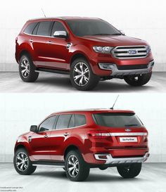 Ford Everest Concept i actually really like this, its big but doesnt look like the typical suburban looking big ass truck