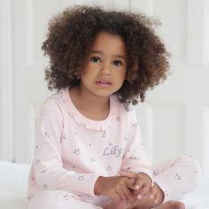 Personalised Pink Crown Pyjama Set