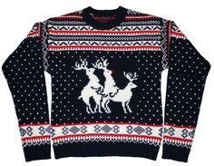 Reindeer Threesome Sweater - $69.99